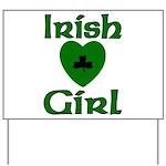 Irish Girl Yard Sign