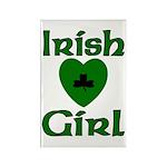 Irish Girl Rectangle Magnet