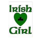 Irish Girl Postcards (Package of 8)
