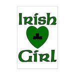 Irish Girl Mini Poster Print