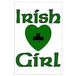 Irish Girl Large Poster