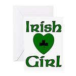 Irish Girl Greeting Card