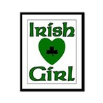 Irish Girl Framed Panel Print
