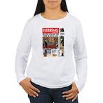Trashy Penguin Tabloid Women's Long Sleeve T-Shirt