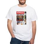Trashy Penguin Tabloid White T-Shirt