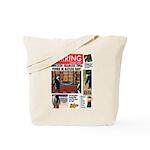 Trashy Penguin Tabloid Tote Bag