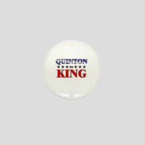 QUINTON for king Mini Button