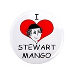 """Stewart Mango 3.5"""" Button"""
