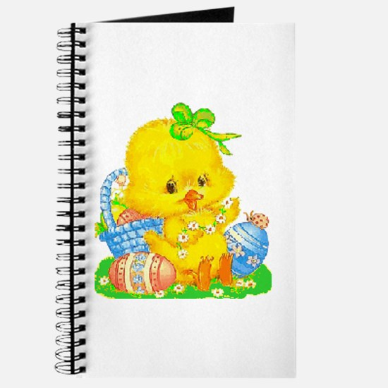 Vintage Cute Easter Duckling And Egg Journal