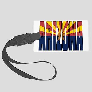 Arizona Flag Large Luggage Tag