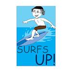 Surfs Up! Mini Poster
