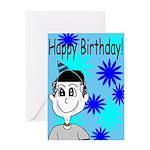 Stewart Mango Birthday Card