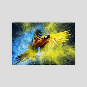 Beautiful Parrot 4' x 6' Rug