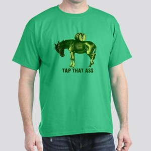 Tap That Ass Donkey Beer Keg Dark T-Shirt