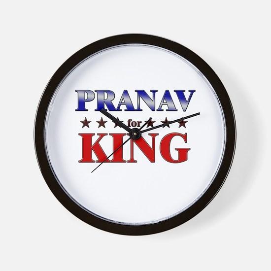 PRANAV for king Wall Clock