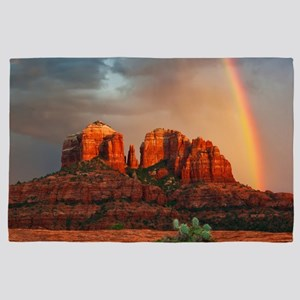 Rainbow In Grand Canyon 4' x 6' Rug