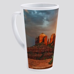 Rainbow In Grand Canyon 17 oz Latte Mug