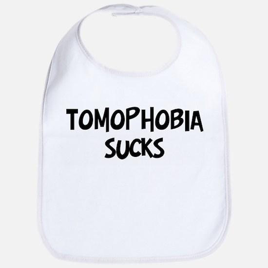 tomophobia sucks Bib
