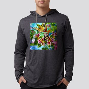 Beautiful Butterflies And Flow Long Sleeve T-Shirt