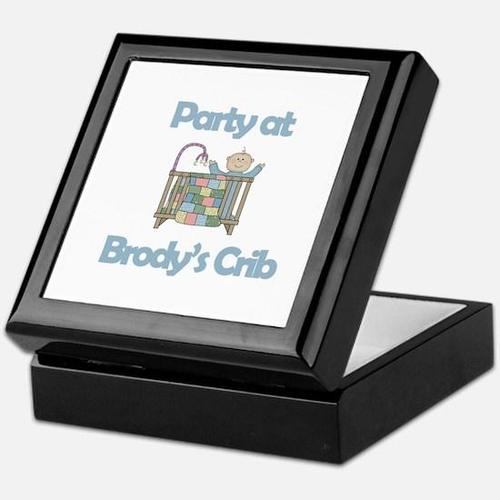 Party at Brody's Crib Keepsake Box