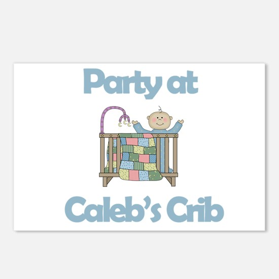Party at Caleb's Crib Postcards (Package of 8)