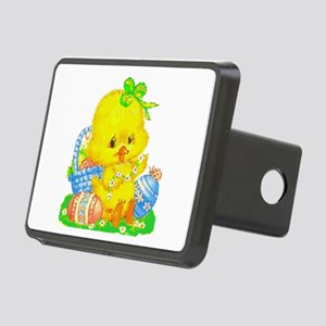Vintage Cute Easter Rectangular Hitch Cover