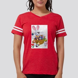 Easter Bunny with Basket of Eggs T-Shirt