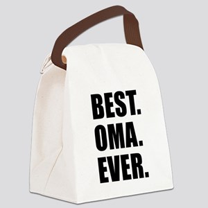 Best Ever Oma Drinkware Canvas Lunch Bag