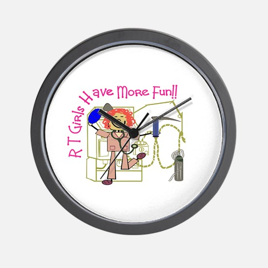 Respiratory Therapy III Wall Clock