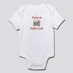 Party at Faith's Crib Infant Bodysuit