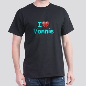 I Love Vonnie (Lt Blue) Dark T-Shirt
