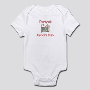 Party at Grace's Crib Infant Bodysuit