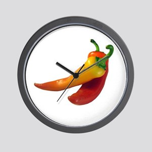 Hot Chili Peppers Wall Clock