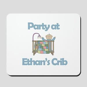 Party at Ethan's Crib Mousepad