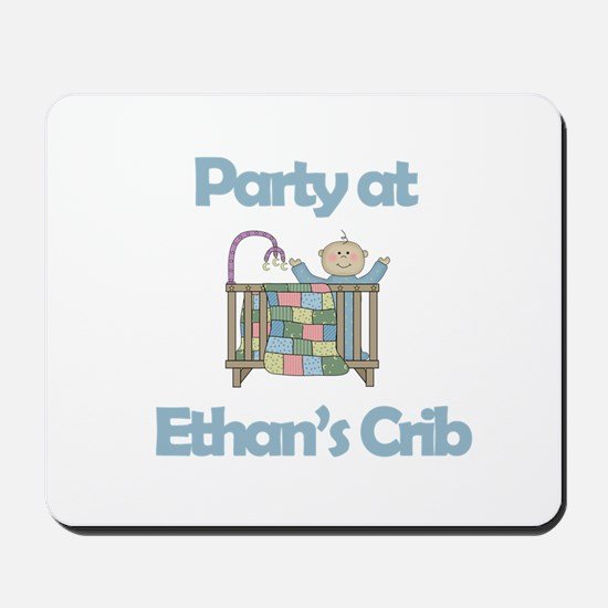 Party at Ethan's Crib Mousepad