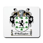 O'Gallagher Family Crest Mousepad