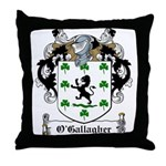 O'Gallagher Family Crest Throw Pillow