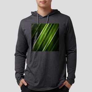 christmas lime green lines abs Long Sleeve T-Shirt