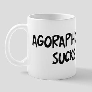 agoraphobia sucks Mug