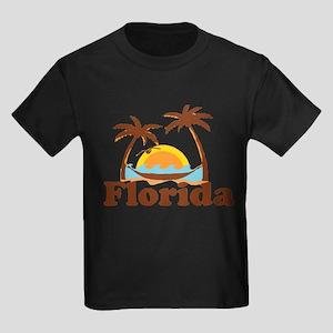 Florida - Palm Trees Design. T-Shirt