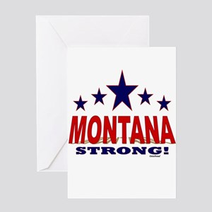 Montana Strong! Greeting Card