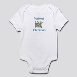 Party at John's Crib Infant Bodysuit