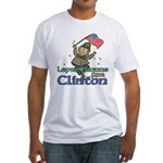 Leprechauns for Clinton Fitted T-Shirt