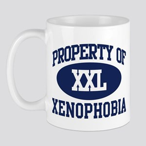 Property of xenophobia Mug