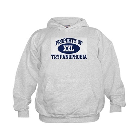 Property of trypanophobia Kids Hoodie