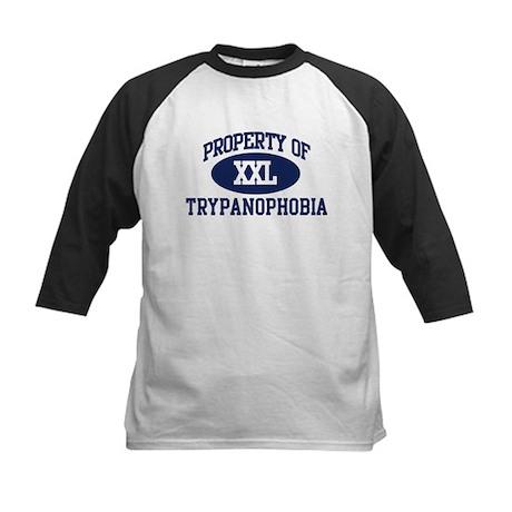 Property of trypanophobia Kids Baseball Jersey