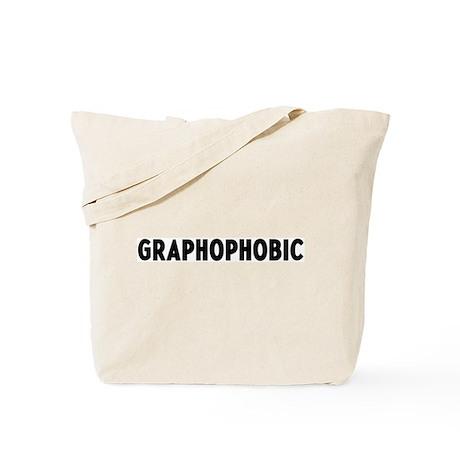 graphophobic Tote Bag