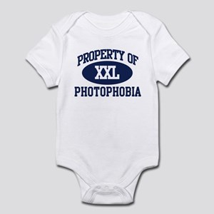 Property of photophobia Infant Bodysuit