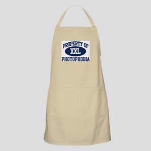 Property of photophobia BBQ Apron