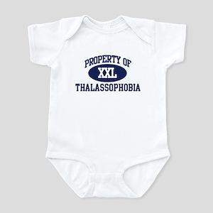 Property of thalassophobia Infant Bodysuit